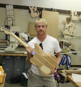 Sean Hauze Guitar Building