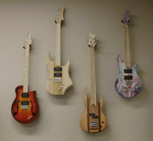 Old and new Guitar models